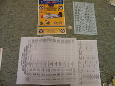 Yellow-Wings  decals 1/48 48-047 1938-39 USN SOC-3 seagull VO-3 -4   K97