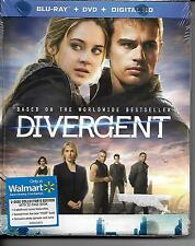 Divergent Blu-ray DVD Digital HD 2 disc Collector's Edition with book NEW