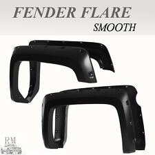 Fit 2015 CHEVY SILVERADO 2500/3500HD SHORT BED Pocket Style Smooth Fender Flares