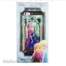 Disney iPhone 5 5S FROZEN Anna Stained Glass Plastic Jacket Hard Cover Case