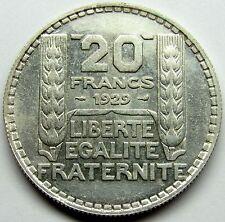 QUALITE - Très belle monnaie - 20 Francs Turin - 1929 -