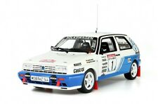 OTTO Volkswagen Golf 2 Gruppe A No.1 Hunsruck Rally 1991 - 1/18 White Ref OT133
