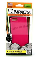 Impact Gel Xtreme Armour Cell Phone Case For Apple iPhone 5 5s Pink i5-SMPK-327