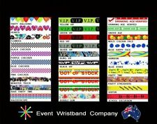 500 x Tyvek, event, party, security, wristbands