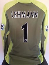 Arsenal FC LEHMANN 03/04 GoalKeeper Football Shirt (XL) Soccer Jersey (BNWT)