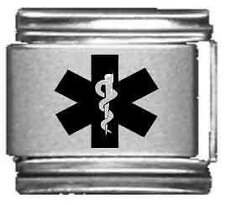 Clearly Charming Medical Insignia Laser Italian Charm