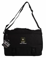 U.S. Army Official Licensed Black Laptop Messenger Bags