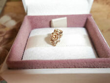 Genuine Authentic Pandora 14ct Solid Gold Roses Charm 750120 585 ALE