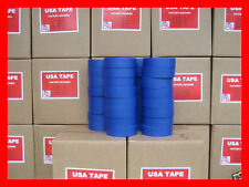 """Lot Of 32 Rolls 1 1/2"""" X 60 Yrds Blue Painters Masking Tape MADE IN USA"""