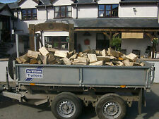 firewood logs fire wood log fuel north wales 100% hardwood For Sale