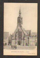 MONTOIRE-sur-le-LOIR (41) COMMERCE de BONNETERIE & ECLISE animée avant 1904