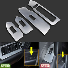 4pcs Stainless Car Window Lift Decorate Panel Trim for Chevrolet Captiva 2012-15