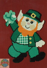 Plastic Canvas Kit Design Works St. Patrick's Day Wall Hanging #DW1266 OOP SALE!