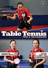 Table Tennis Tips and Techniques DVD with Olympic Silver Medalist Gao Jun