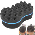 Blue 2 Side Barber Hair Brush Sponge Dreads Locking Twist Coil Afro Styling Tool