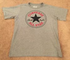 Converse All Stars T.Short Top Grey Size 10 To 12 Years Very Good Condition !