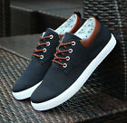New England Men's Canvas Sneakers Breathable Recreational Shoes Casual Shoes