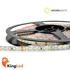 Strip LED Striscia 5M 24V 48W 600SMD3528 IP65 Naturale 4000K Impermeabile 0716