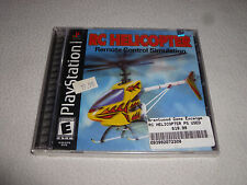 BRAND NEW FACTORY SEALED PS1 PLAYSTATION VIDEO GAME RC HELICOPTER REMOTE CONTROL