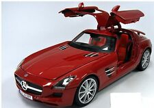 1:18 Maisto Red Mercedes-Benz SLS AMG Item # 36196