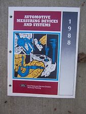 1988 Ford Automotive Measuring Devices and Systems Manual Caliper Hydraulic  R