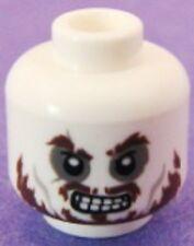 LEGO - Minifig, Head Skull Ragged Brown Beard, Bad Teeth (Hector Barbossa)