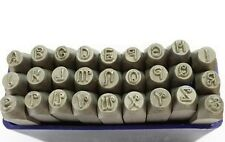 27 Pc Penguin Font 3mm UPPERCASE Letter Metalwork Stamp Stamps Punches J1378