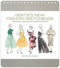 Gertie's New Fashion Sketchbook by Gretchen Hirsch Spiral Book (English) NEW