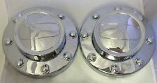 NEW 2011-2016 DODGE RAM 3500 Dually 1-ton Truck REAR Alcoa Wheel Center Cap PAIR