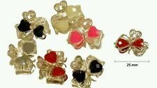 6x New Crystal Flower Mini Hair Claw Clamp Hair Clip Hair Pin Hair Accessory E