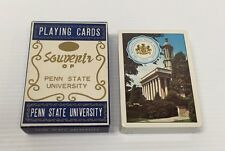 Vintage Sealed Deck Playing Cards Souvinir Of Penn State University Made ~ Japan