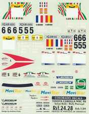 Colorado Decals 1/24 TOYOTA COROLLA WRC 98 Safari Rally & Rally Portugal