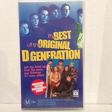 THE BEST OF THE ORIGINAL D GENERATION ~ VHS VIDEO ~ BRAND NEW & SEALED
