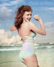 MARILYN MONROE at the Beach #1 | Sexy 8x10 Cheesecake COLOR by CHIP SPRINGER