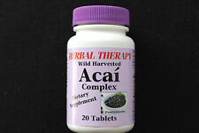 ACAI  BERRY complex  Dietary Supplement  Powerful Antioxidant  Wild Harvested