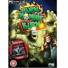 BURN ZOMBIES BURN Including Night of the Living Dead PC NEW SEALED SENT SAMEDAY