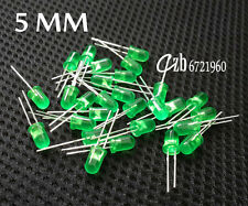 100Pcs LED 5MM GREEN COLOR GREEN LIGHT Super Bright Bulb Lamp