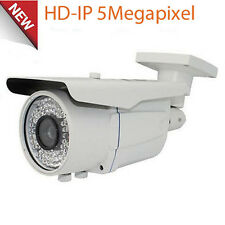 HD 5MP High Definition PoE IP 72IR CCTV Security Camera 2.8-12mm Lens OSD ONVIF