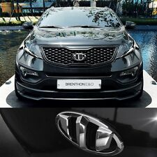 BRENTHON Front & Rear NEW Emblem CHROME BEK-H56 for KIA Sportage 2011-2014