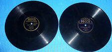 "Ernest Tubb 2X10"" 78 rpm Lot DOCTOR KETCHUM, LITTLE BIT OF EVERYTHING IN TEXAS"