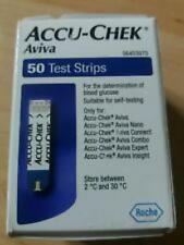 NEW Accu-Chek Aviva 50 x 2 Test Strips BNIB SEALED Diabetic testing