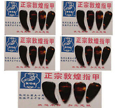 5 Sets total 20 pcs Guzheng Finger Picks, Gu Zheng Nails (Free Shipping)