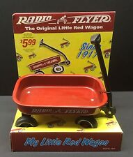 "ORIGINAL Red Radio FLYER Wagon My Little Red Wagon MODEL # 901 6"" long bed 1998"