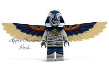 NEW Lego Pharaoh's Quest MUMMY ZOMBIE Minifig -Halloween Monster w/Wings 7327