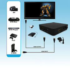 HDMI HD HDD USB TV DVD Blu-ray Recorder Game Video Capture Box For PS4 XBOX Wii