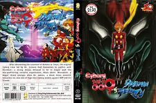 DVD Anime Cyborg 009 Vs Devilman ( 3 Ova ) , 1 DVD , English Subtitle ALL Region