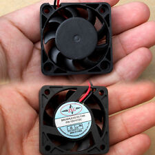 12V 40mm 2 Pin Mini Brushless Computer CPU Case Cooler Cooling Fan PC  9 Blades