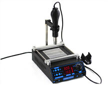853AA 2in1 BGA PDA Rework Electric Heating Hot Air Iron Welder Soldering Station