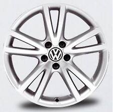 "NEW GENUINE VW GOLF MK6 JETTA SINGLE 17"" SILVER VISION ACCESSORY ALLOY WHEEL"