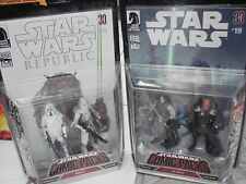 Star Wars COMIC PACKS • #19 Quinlan Vos & Vilmarh Grahrk & #79 Keller&Marine
